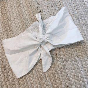 Strapless Tie Bandeau